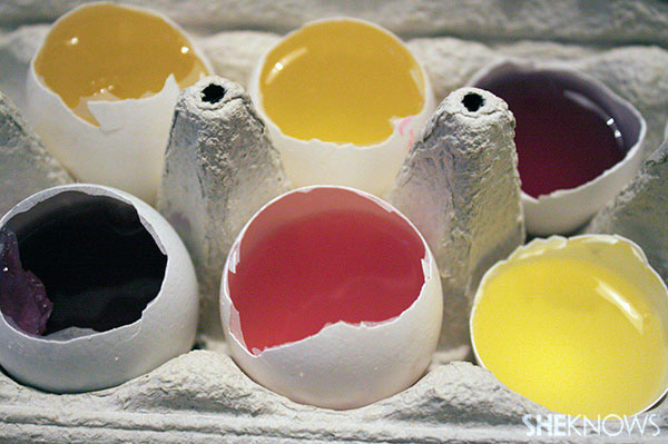How to make jelly eggs: Step 10