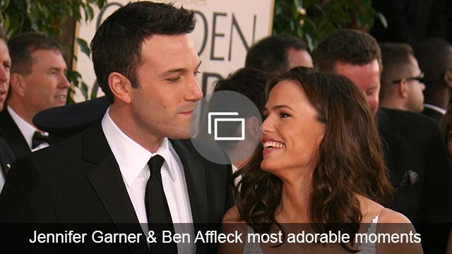 Jennifer Garner & Ben Affleck slideshow