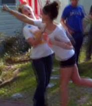 Jenelle Evans fight