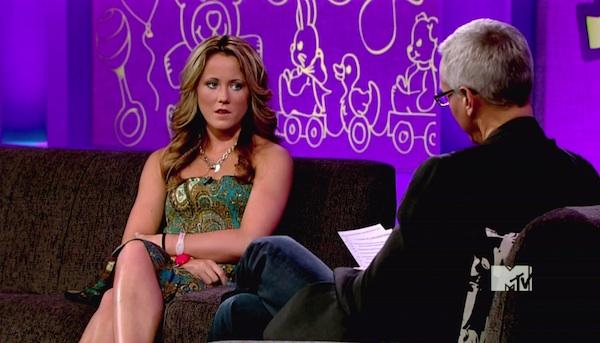 Teen Mom 2's Jenelle Evans talks to Dr. Drew.