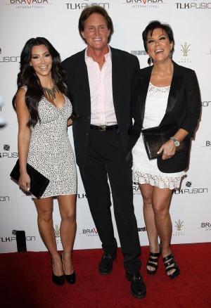 Kim Kardashian Bruce Jenner Kris Jenner