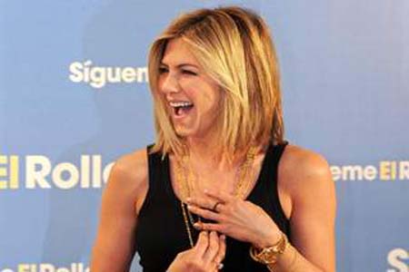 Jennifer Aniston rocks new haircut