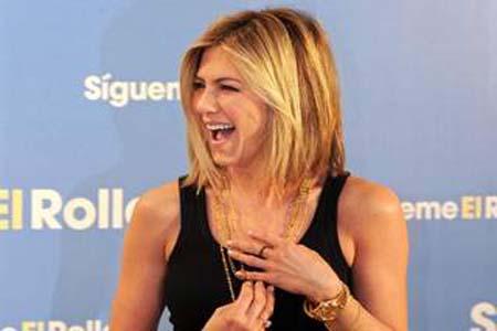 Jennifer Aniston rocks new haircut