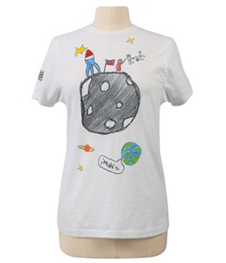 Reach for the Moon tee ($20) designed by Jennifer Aniston