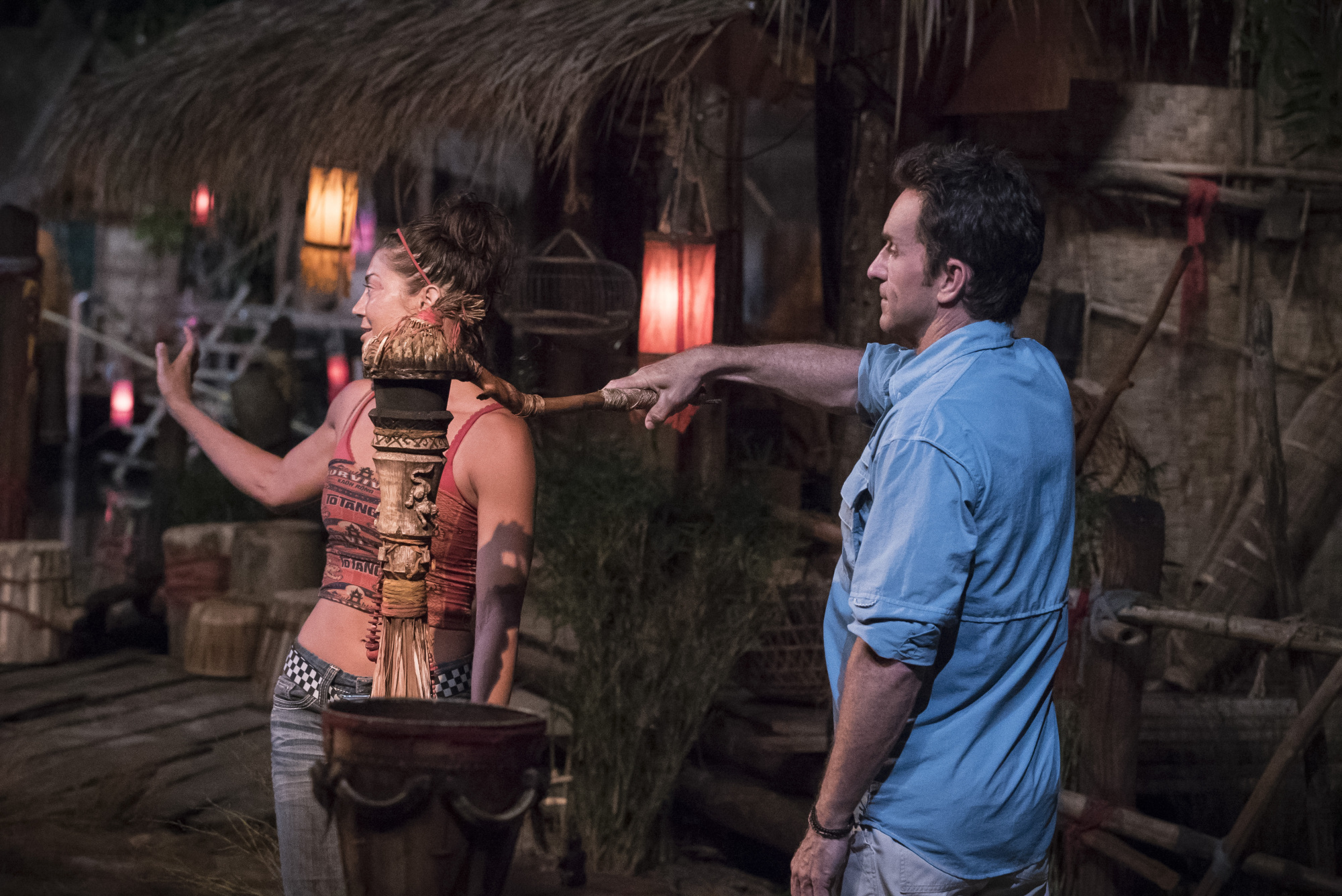 Jennifer Lanzetti voted off Survivor: Kaoh Rong