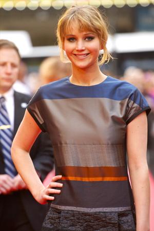 Jennifer Lawrence isn't too fat for Katniss Everdeen