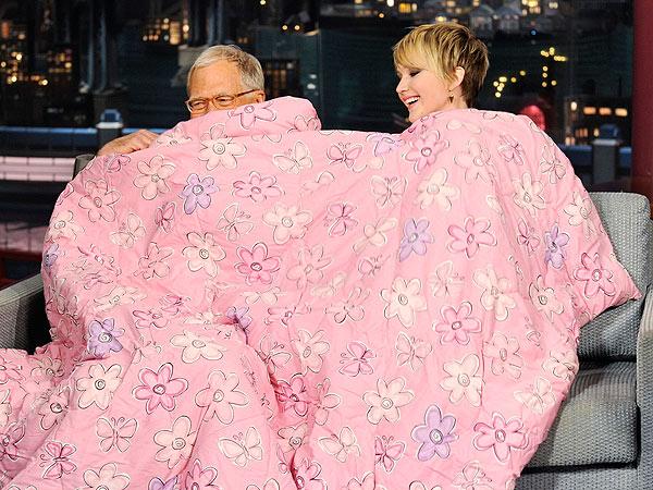 Jennifer Lawrence Dave Letterman