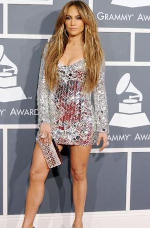 Jennifer Lopez at Grammy Awards 2011