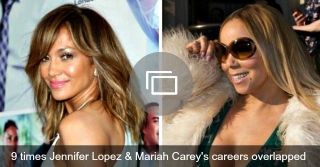 Jennifer Lopez Mariah Carey