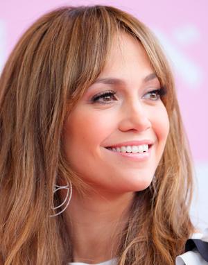 Jennifer Lopez at the Tokyo opening of Thavasa