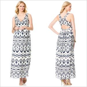 L By Jennifer Love Hewitt Sleeveless Maternity Maxi Dress(destinationmaternity.com, $158)
