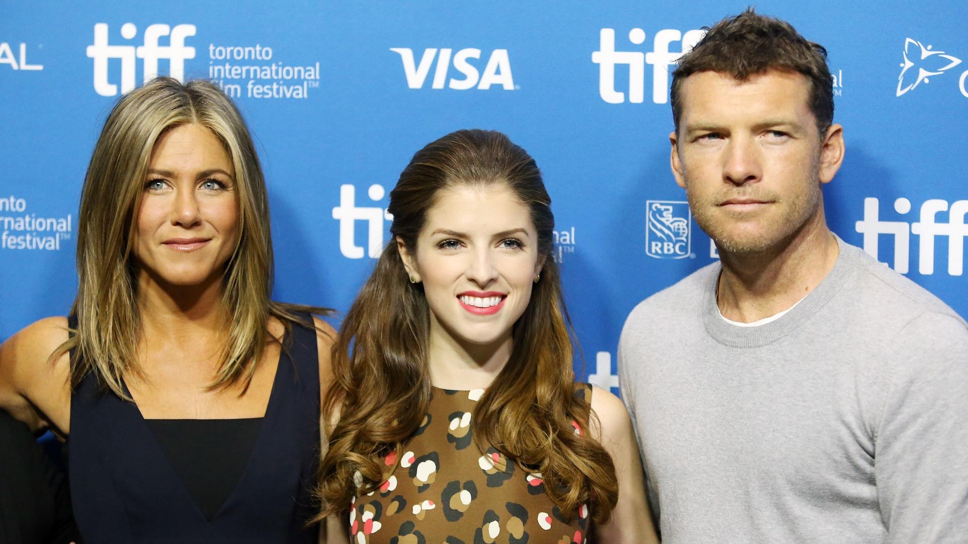 Jennifer Aniston Anna Kendrick and Sam Worthington star in new indie movie Cake