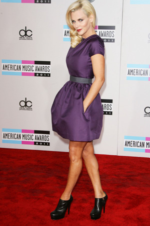 Jenny McCarthy at 2011 AMA's