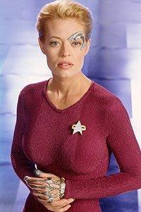 Jeri Ryan in Star Trek: Voyager