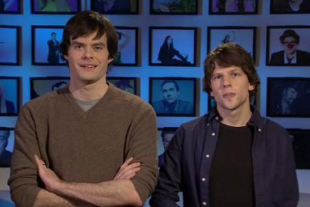 Jesse Eisenberg is hosting Saturday Night Live