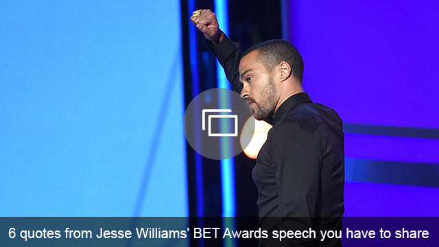 Jesse Williams speech slideshow