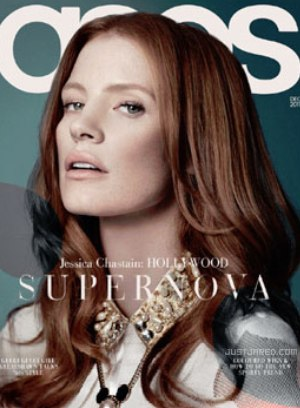 Jessica Chastain: Asos covergirl