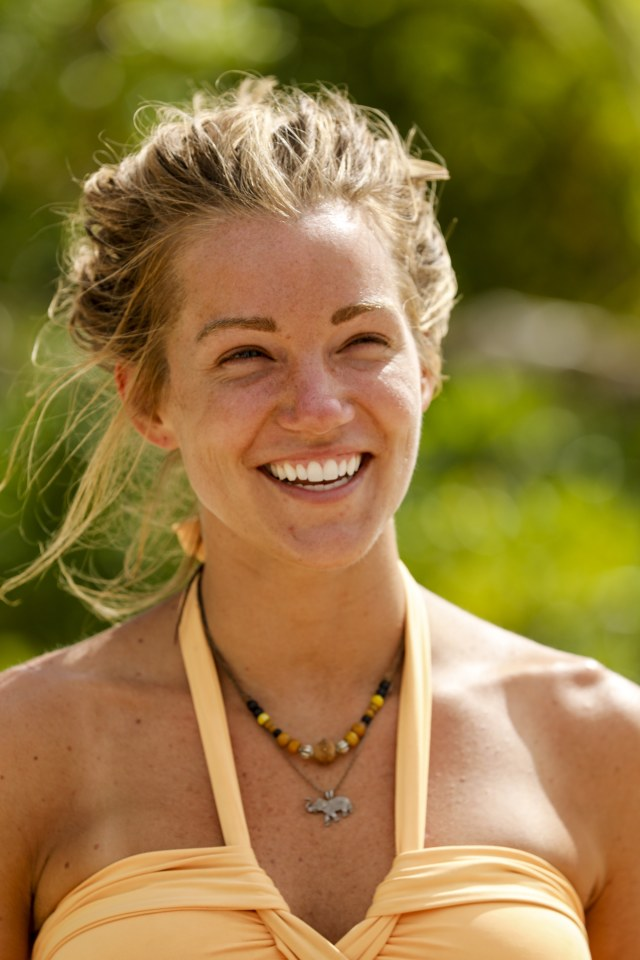Jessica Johnston on Survivor: Heroes Vs. Healers Vs. Hustlers