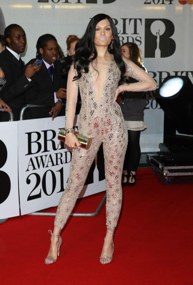 Jessie J at the 2014 BRITS