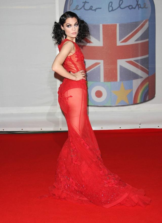 Jessie J at the 2012 BRITS