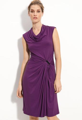 Kenneth Cole New York cowl neck dress