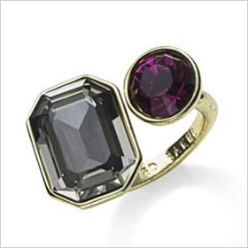 Double jewel rings