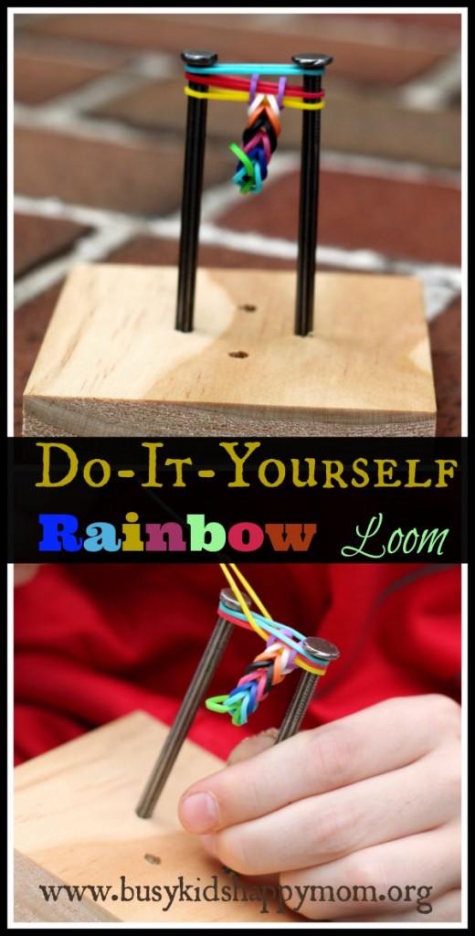DIY Rainbow loom