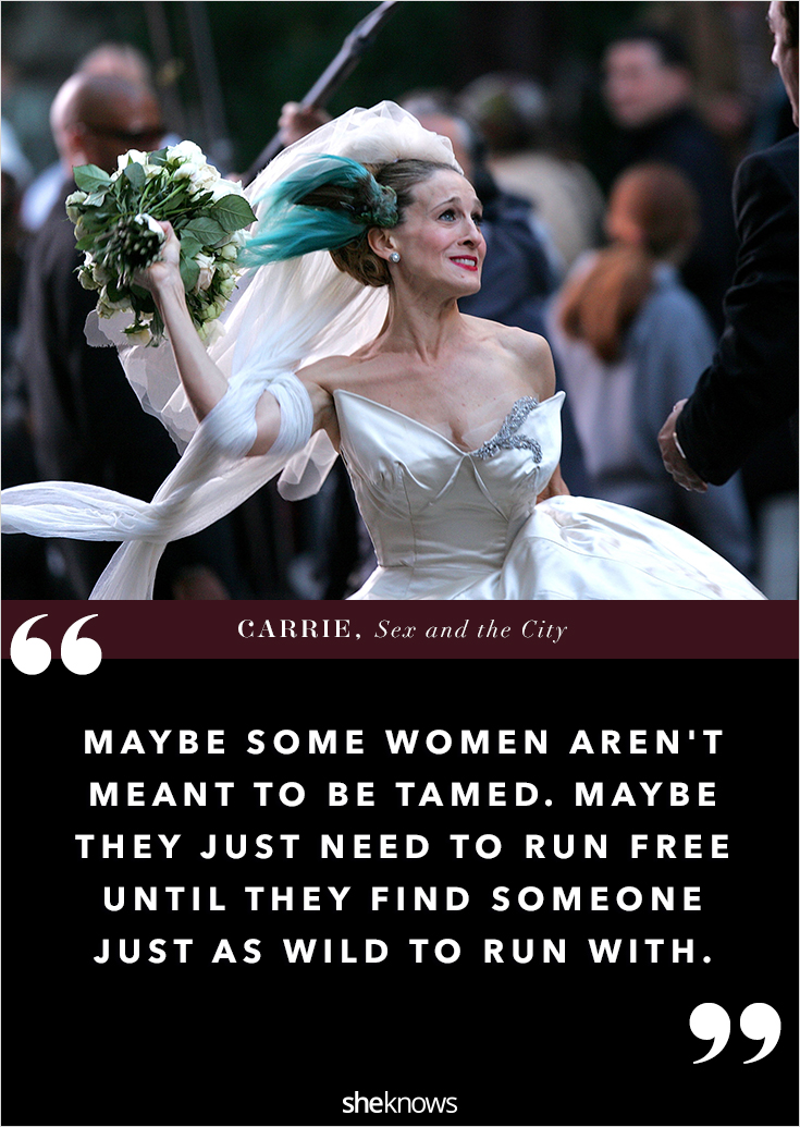 Sex and the city quotes tamed