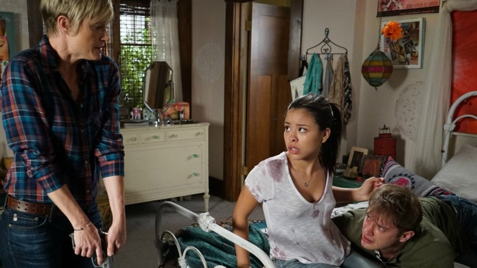 Nick's gun rampage on The Fosters