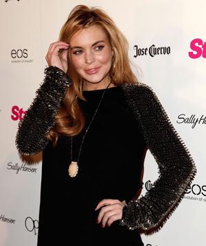 Lindsay Lohan is fine and back