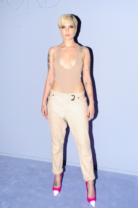 NYFW 2018 Celebrity Sightings: Halsey