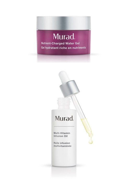 New Beauty Products To Try In 2018 | Murad Nutrient Charged Water Gel & Multi Vitamin Infusion Oi