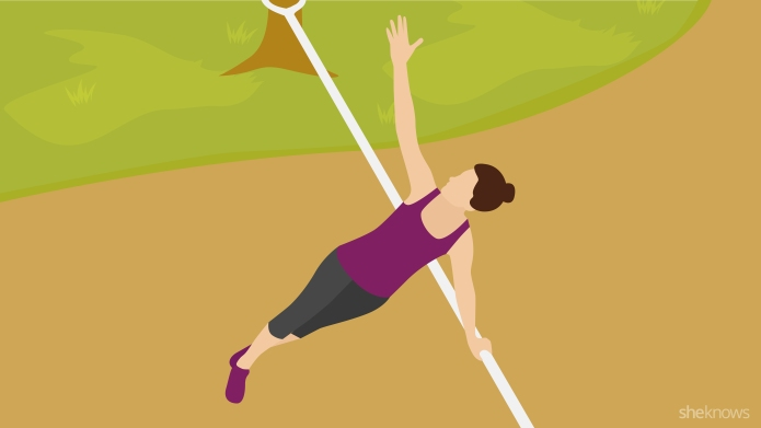 Superfun slackline workout will make your
