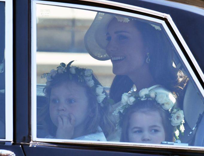 Kate Middleton & kids royal wedding