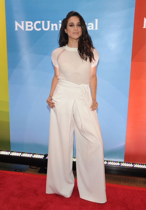 Meghan Markle's Most Fashionable Outfits | Attending the 2015 NBC New York Summer Press Day