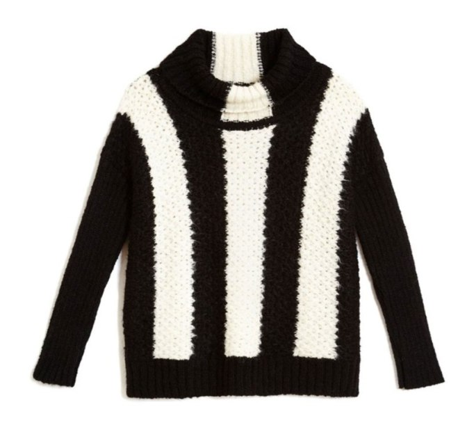 Ways To Wear A Turtleneck | Striped sweater