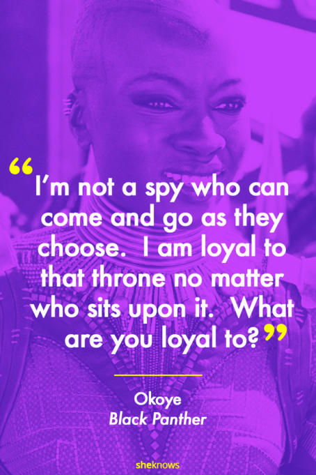 Okoye 'Black Panther' quote