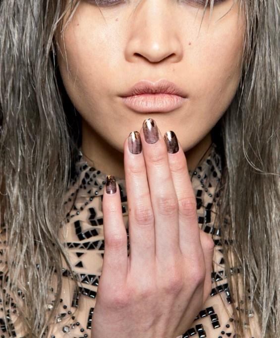 Nails at Tadashi fashion show