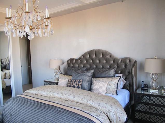 Jill Zarin's bedroom