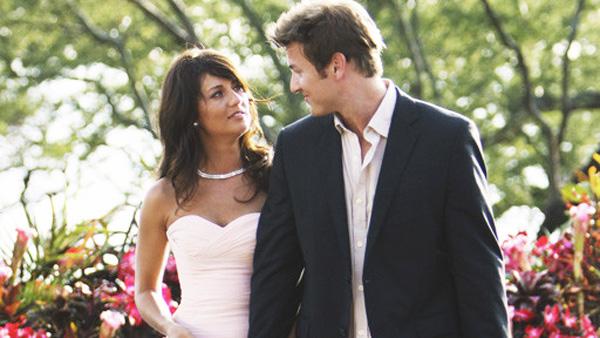 Jillian Harris and Reid Rosenthal on The Bachelorette