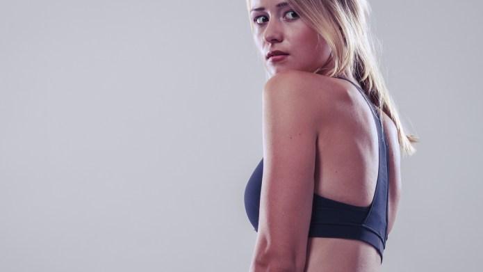 woman fitness girl in sportswear