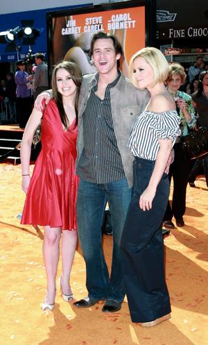 Jim Carrey and Jane Carrey
