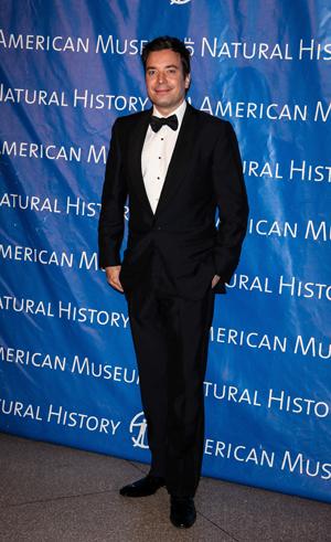 Jimmy Fallon at a museum gala
