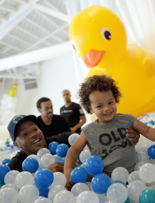 Rocco and Donald Faison