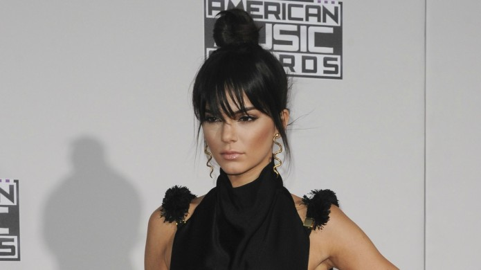 Kendall Jenner looks amazing in black
