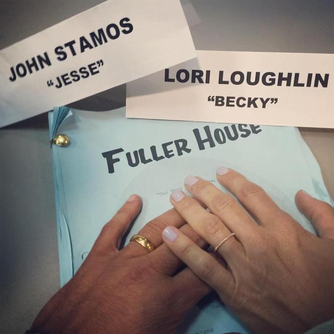 John Stamos and Lori Loughlin script