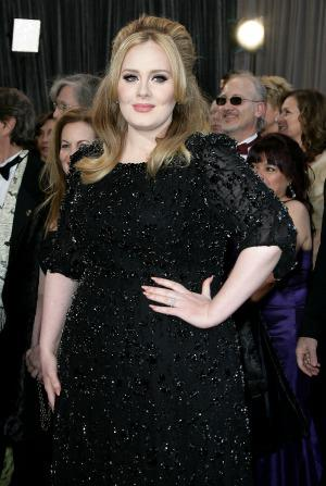 Adele is now halfway to an