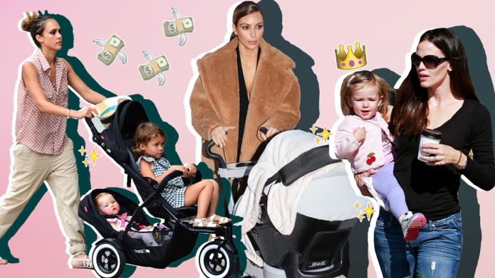 Completely over-the-top celebrity baby gear we