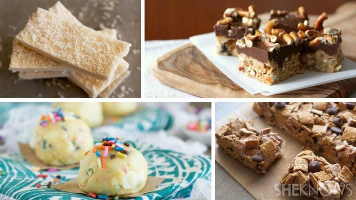 No-bake desserts for back-to-school