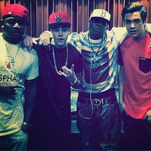 Did Austin Mahone and Justin Bieber